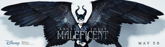 Maleficent wing banner