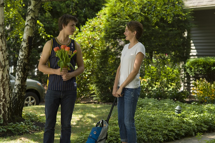 The Fault in Our Stars Hazel and Gus