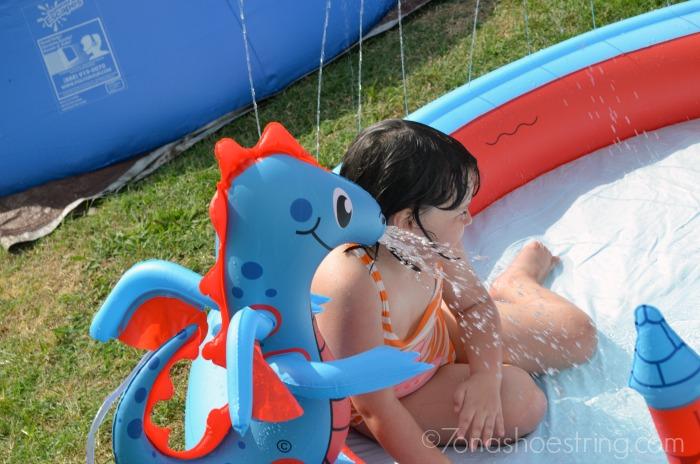 interactive kid pool