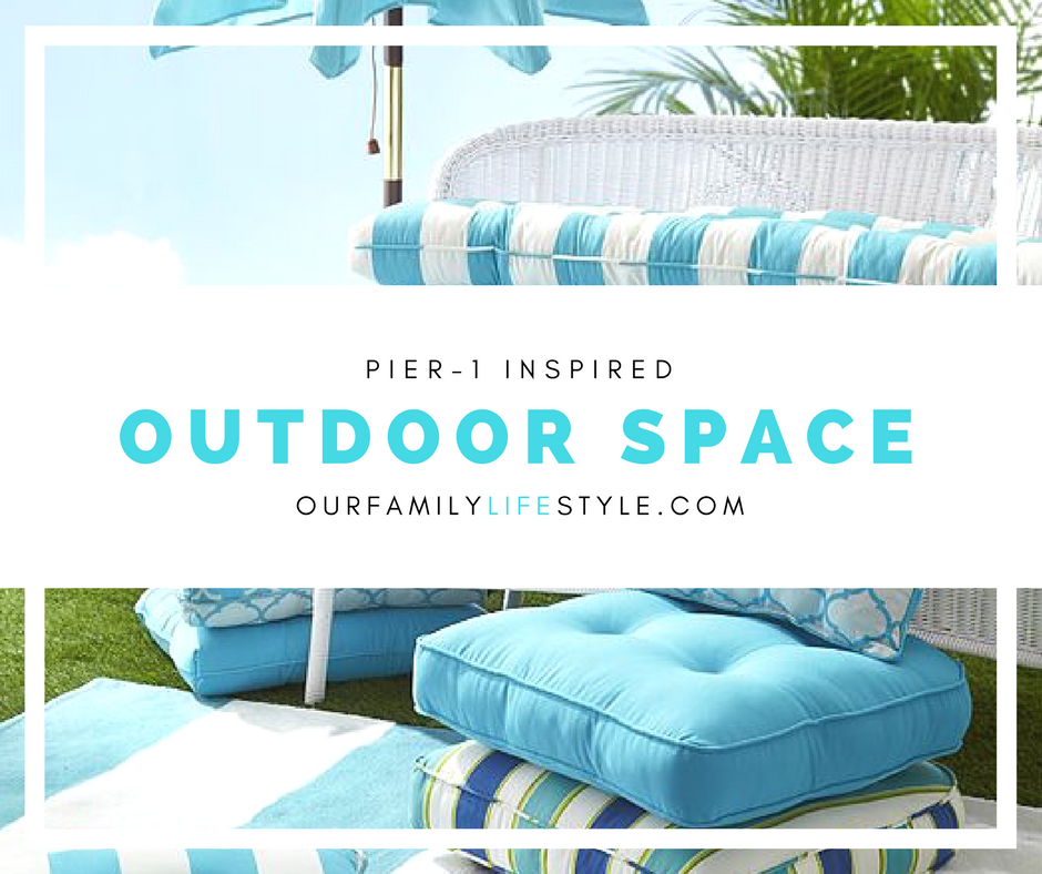 Designing an Outdoor Space Inspired by Pier 1 Imports