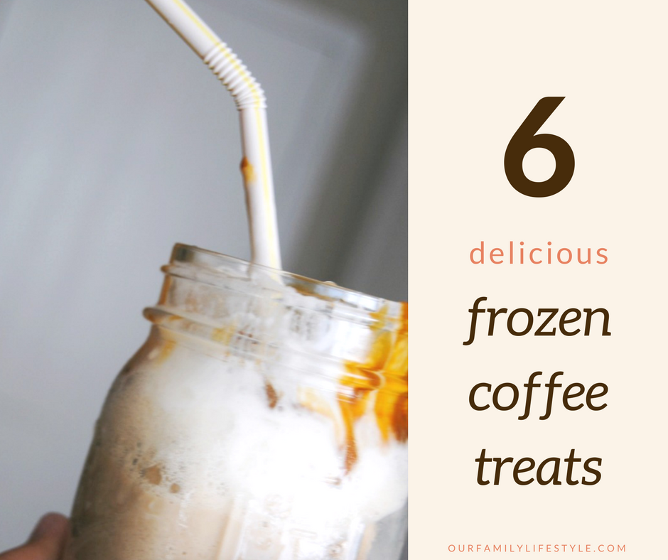 6 Delicious Frozen Coffee Treats