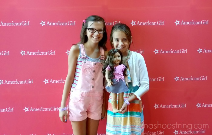 American Girl red carpet