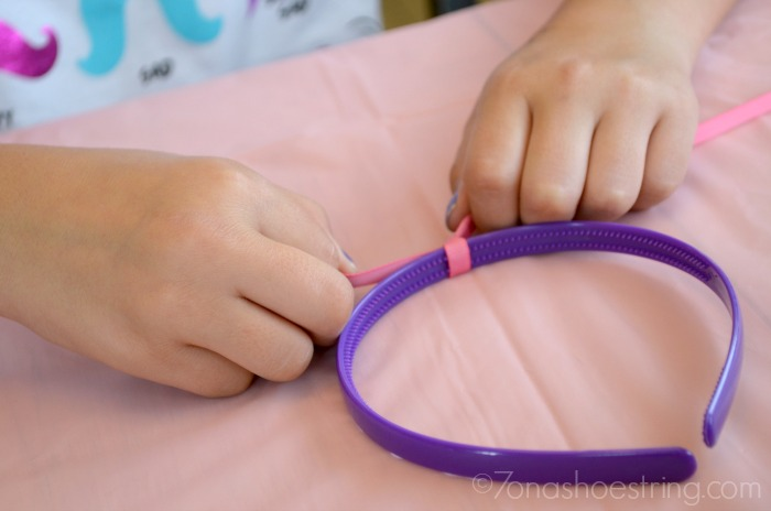 Doc McStuffins headband ribbon