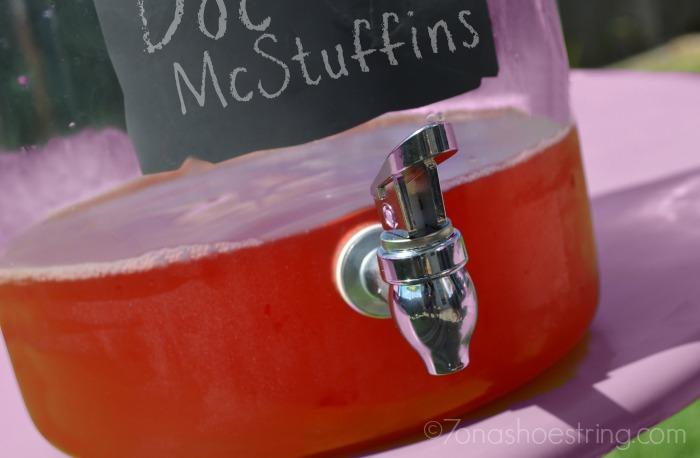 Doc McStuffins punch