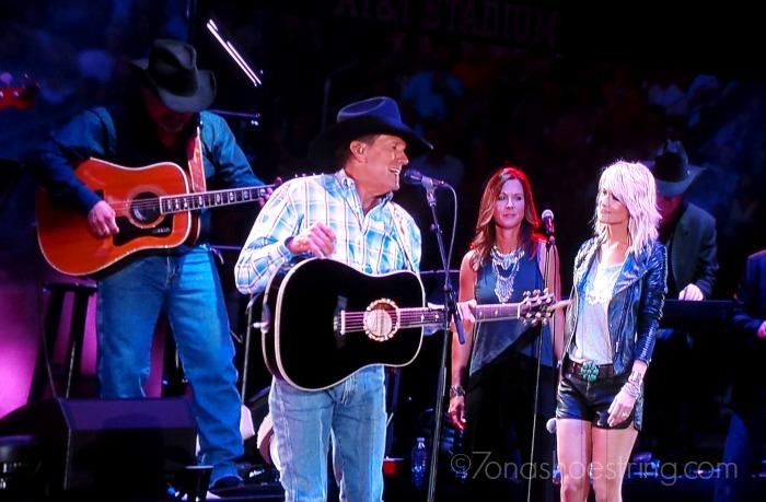 George Strait and Miranda Lambert
