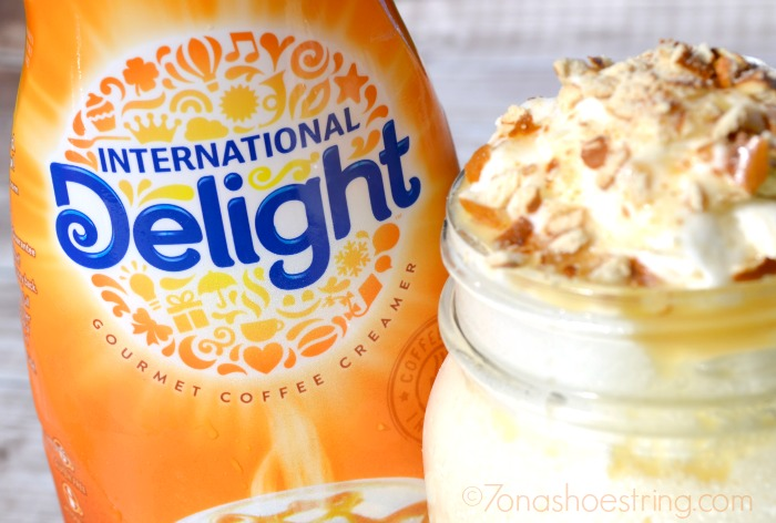 International Delight milkshake