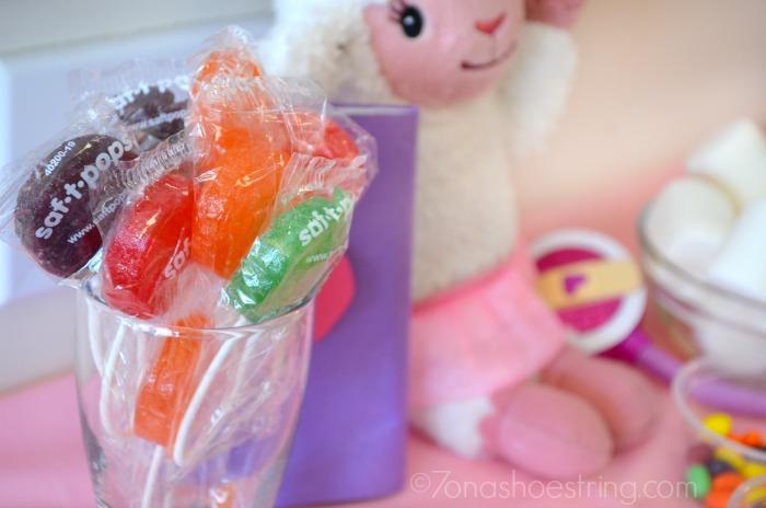 Lambie lollipops