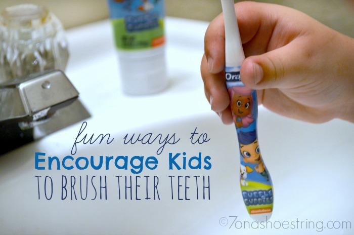 Encourage Kids to Brush Their Teeth