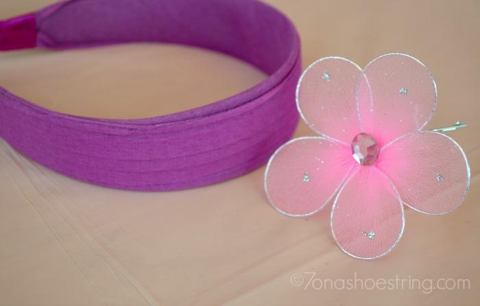 headband flower craft