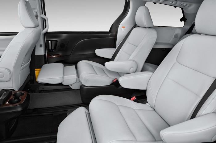 2015 Toyota Sienna LTD interior