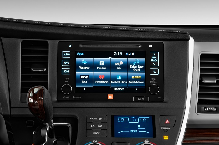 2015 Toyota Sienna LTD tech