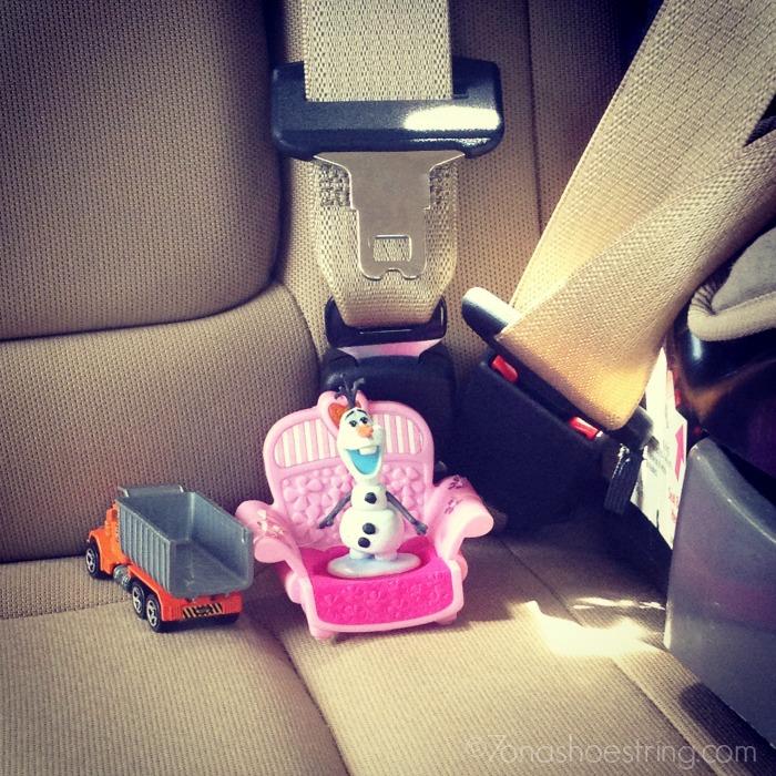 F250 backseat