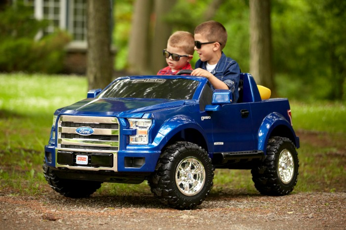 Ford Offers All-Electric F-150: Fisher-Price Power Wheels
