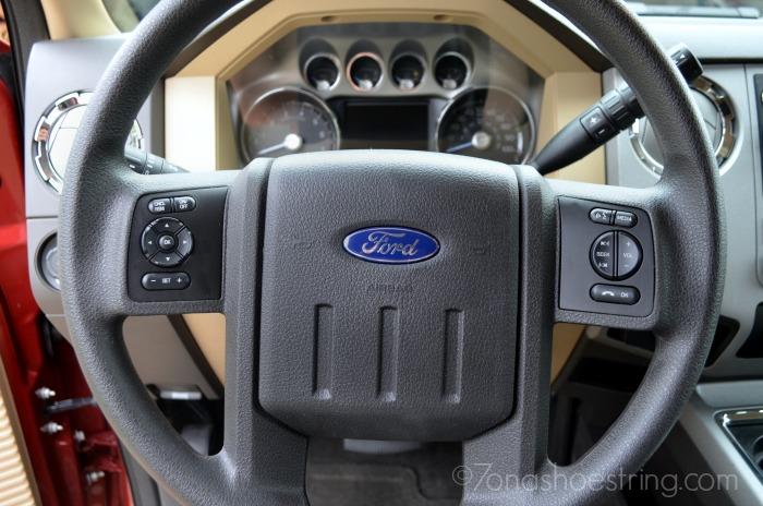 Ford F250 steering wheel
