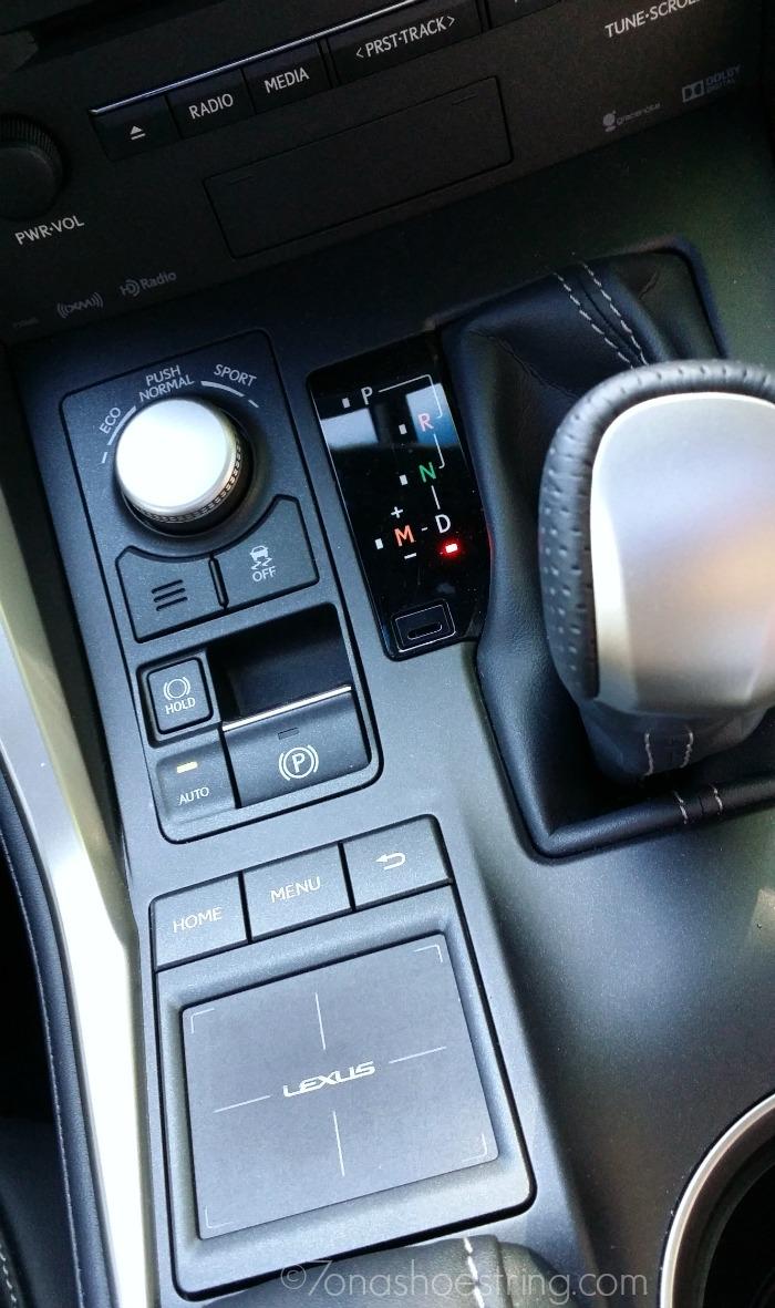 Lexus NX Driver Select Mode