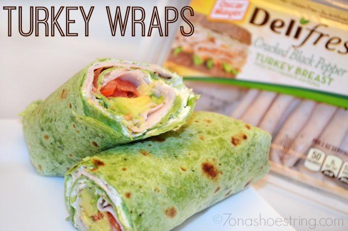 Oscar Mayer Deli Fresh Turkey Wraps Recipe