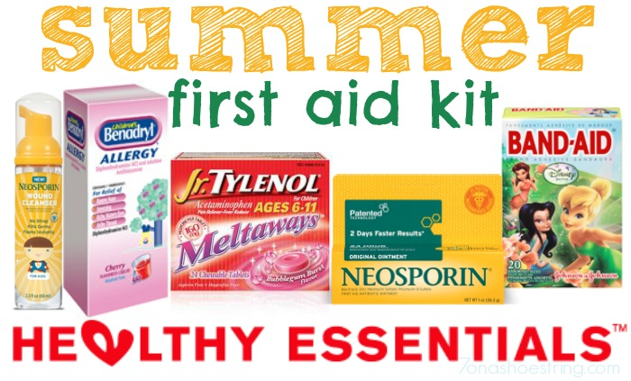 Stock a Summer First Aid Kit with Healthy Essentials Products