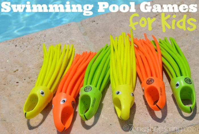 Swimming Pool Games for Kids
