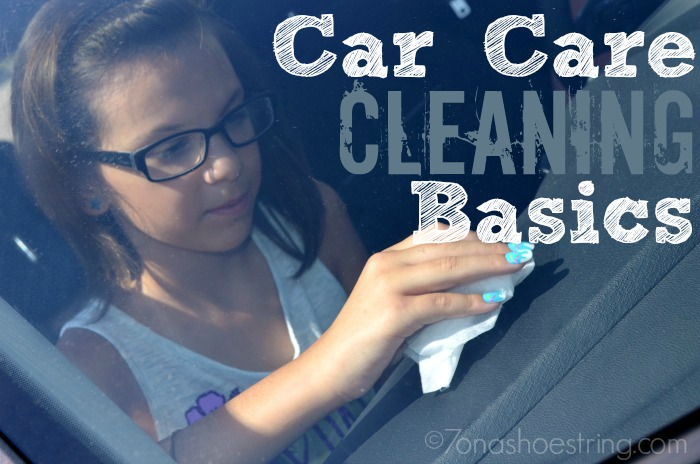 Car Care Cleaning Basics Using Armor All from Walmart