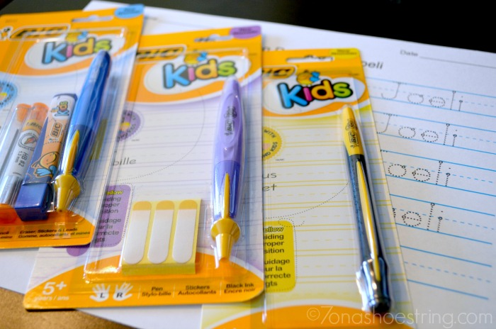Using Proper Writing Tools from BIC Kids