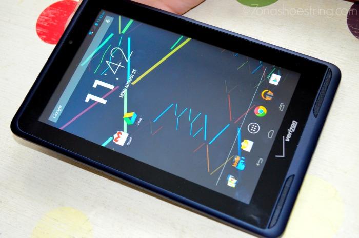Verizon tablet
