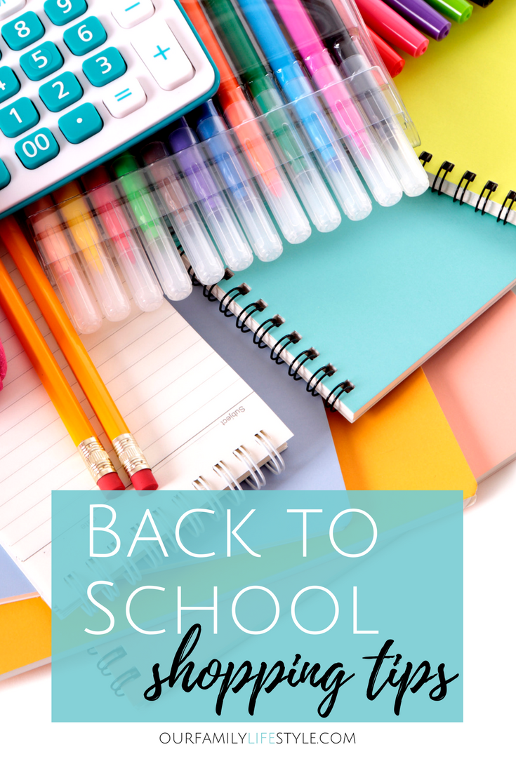 back to school shopping tips with Sears