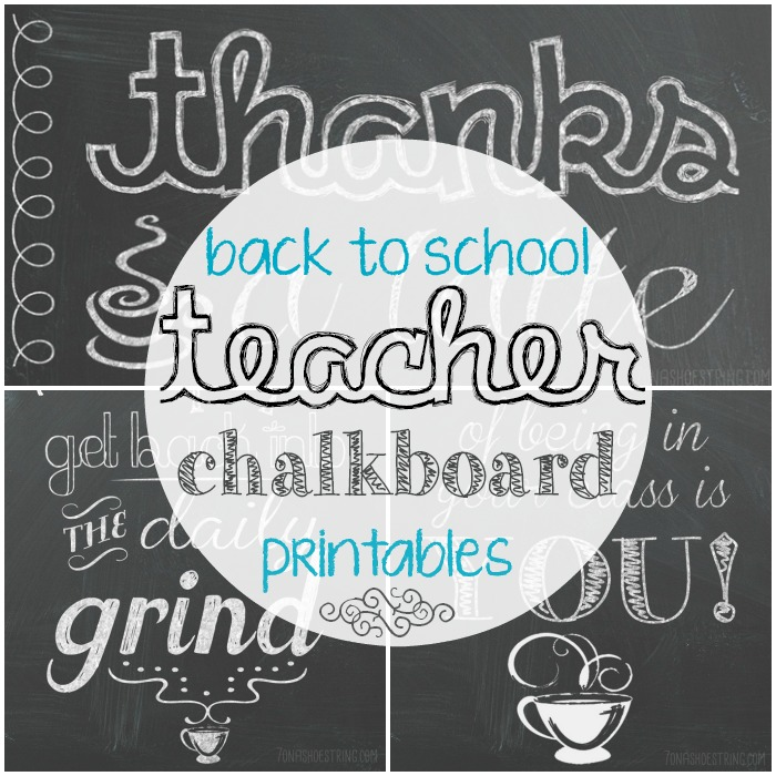 Back to School Teacher Printables