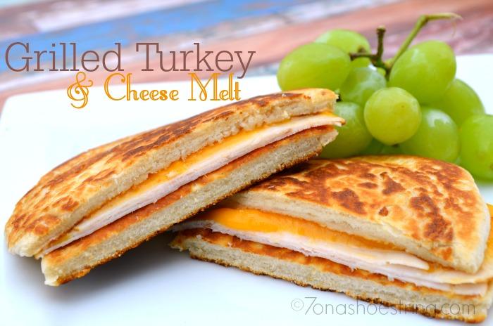 Grilled Turkey and Cheese Melt : Oscar Mayer Deli Fresh