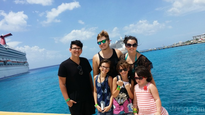 kids on cruise
