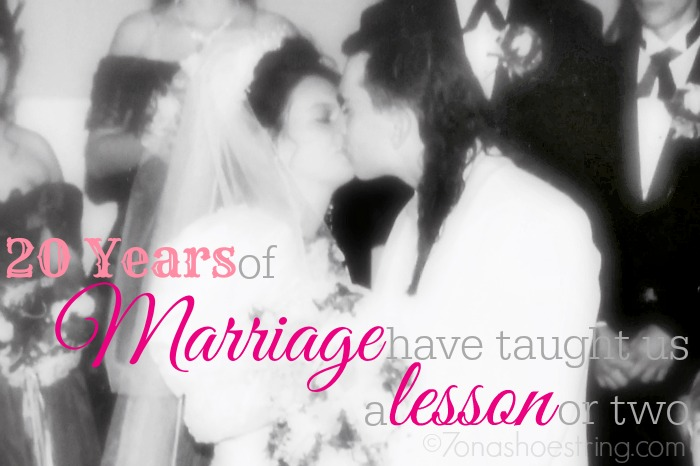 20 years marriage lesson
