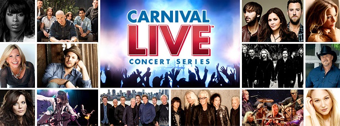 Carnival Live concert series