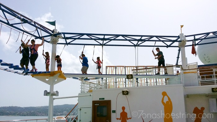 Carnival ropes course