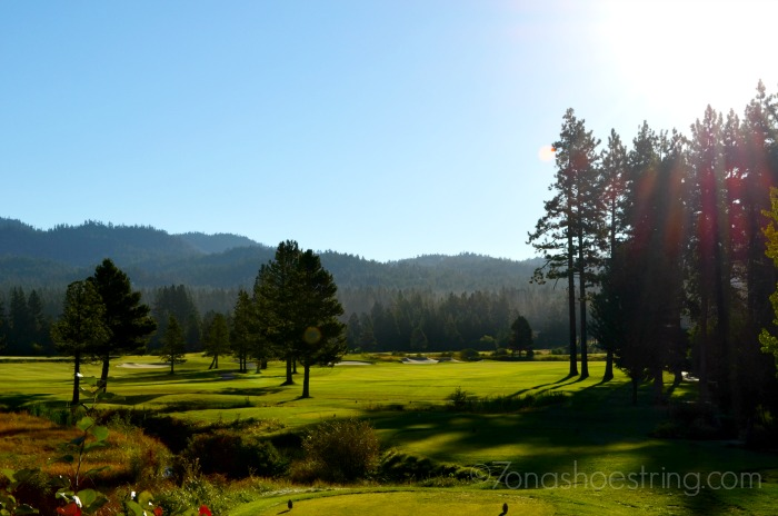 Edgewood Tahoe Golf Resort sunrise