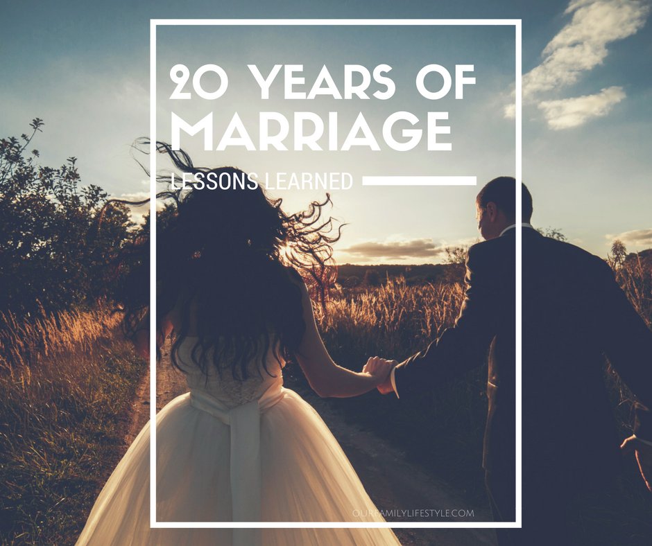 lessons learned after 20 years of marriage