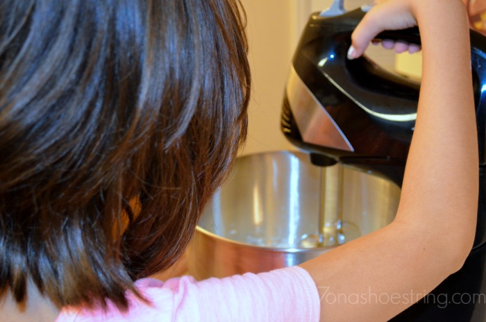 stand up mixer with kids
