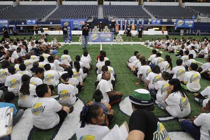NFL PLAY 60 Character Camp at Dallas Cowboys Field
