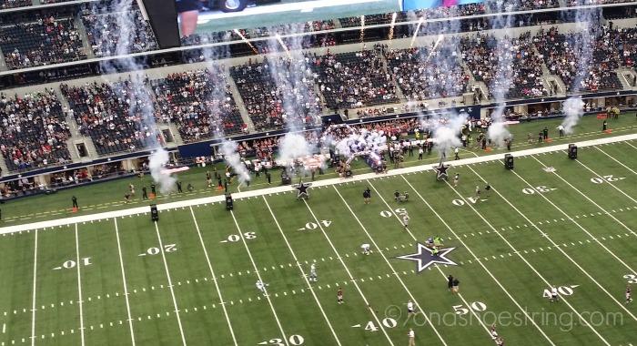 Cowboys pre-game show