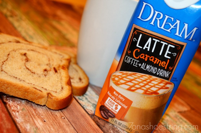 DREAM Latte perfect for pairing with snacks