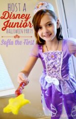 Host a Disney Junior Halloween Party with Sofia the First