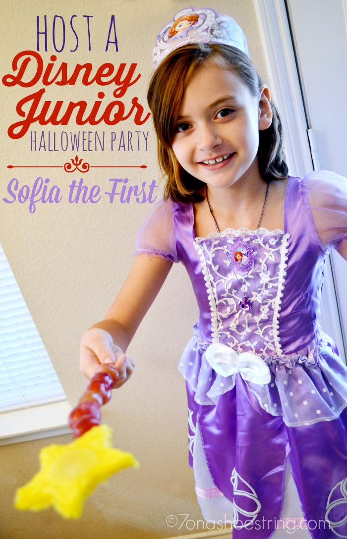 Host a Disney Junior Party with Sofia the First