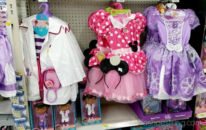 Disney Junior in Walmart toy aisles