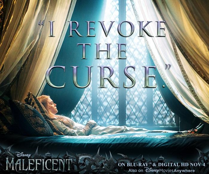 Disney Maleficent DVD revoke the curse
