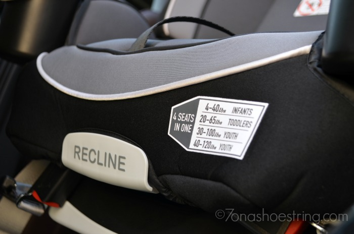 Only Car Seat You Need : Graco 4Ever All-in-One