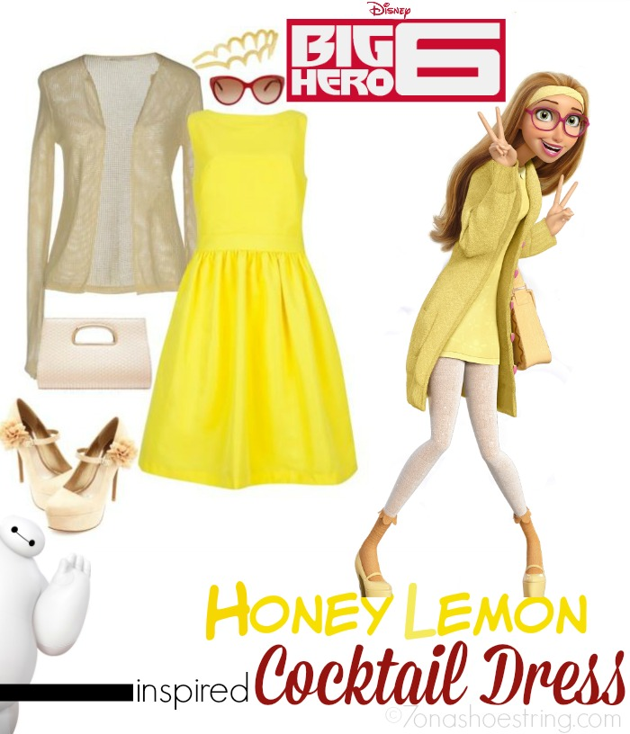 Fashion Inspired by Big Hero 6 Red Carpet