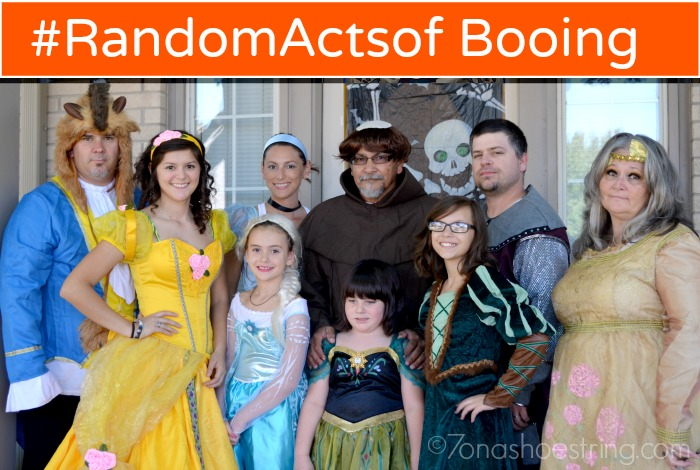 Make Others' Life Better in Costumes by Performing #RandomActsofBooing