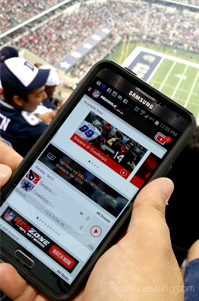 NFL Mobile free for Verizon customers