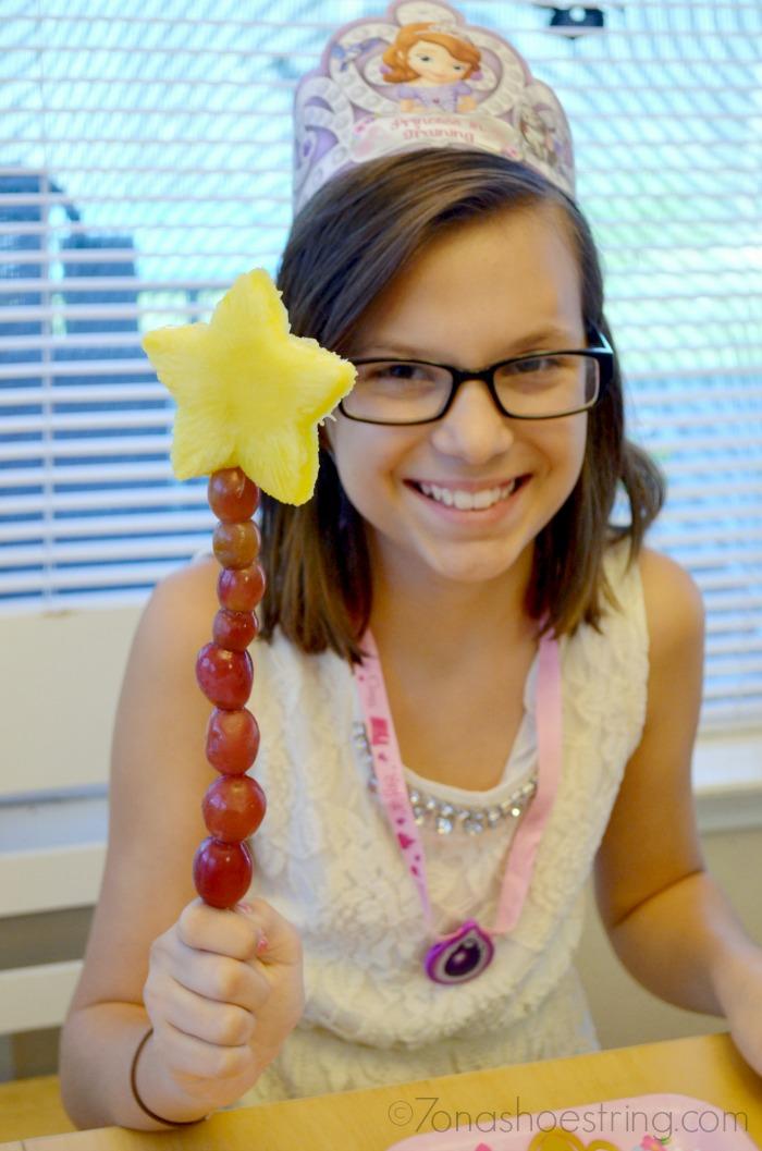 Princess Sofia fruit wand