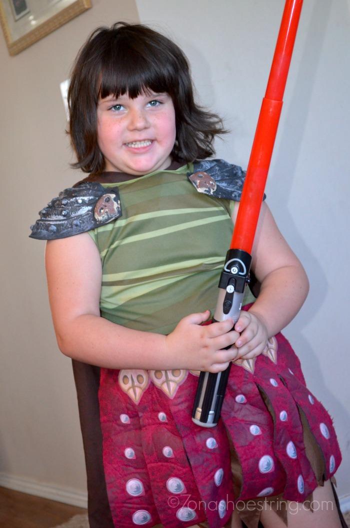 Star Wars Rebels dress up lightsaber