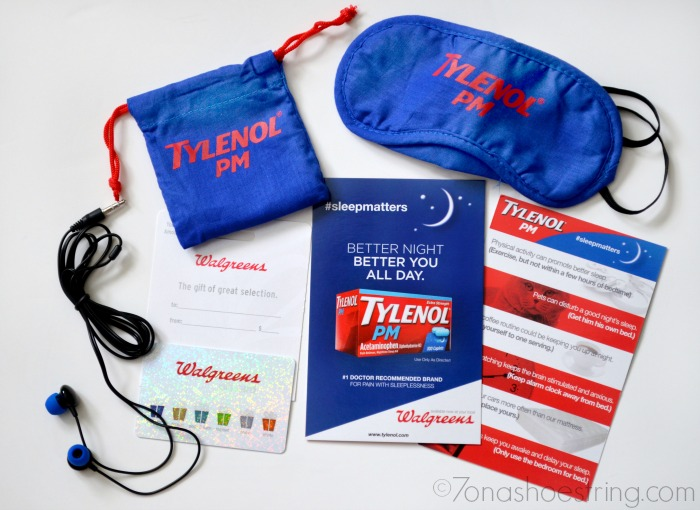 Tylenol PM Sleep Kit
