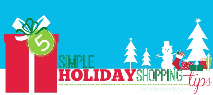 5 Simple Holiday Shopping Tips